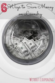 Laundry is not only taking up a lot of your time, it's costing you a lot of money. These tips save you money and are eco-friendly!
