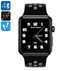 DM09 Plus Smart Watch Phone - Bluetooth 4.0, 1.5-Inch OLED Display, 1 IMEI, SMS, Calls, Social Media Notifications, Pedometer - DM09 Plus Smart Watch Phone features 1 IMEI number thanks to which it allows you to make calls and send messages from your wrist.