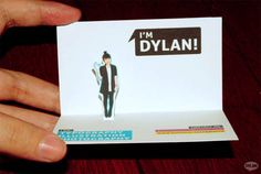 Creative Dylan Dylanco Business Card - Business card inspirarion