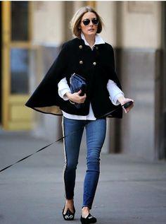 ¡Aprende a combinar el poncho como prenda de abrigo! | Me lo dijo Lola