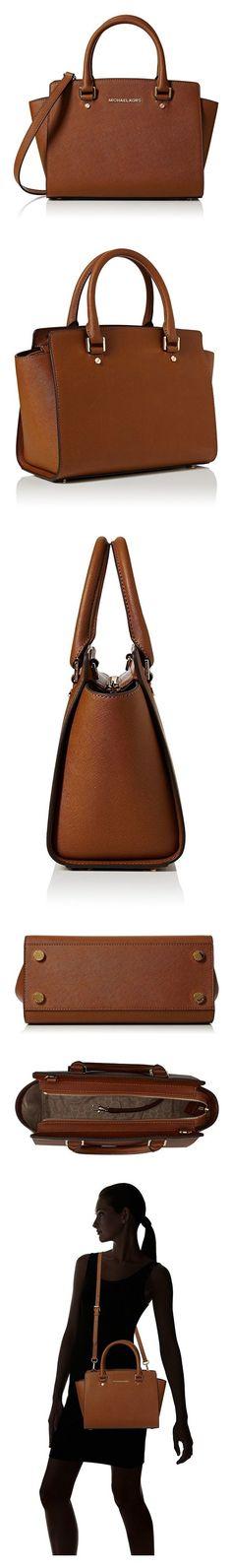 7641547341b9 MICHAEL Michael Kors Selma Medium Satchel  Handbags  Amazon.com