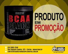 O BCAA Black da Probiótica é um suplemento alimentar para manutenção da massa muscular magra e que ajuda a evitar a fadiga muscular durante os treinos, formulado exclusivamente por aminoácidos...
