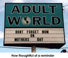 Don't forget MaMa!