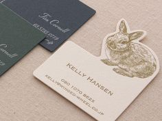 I love fine papers and I love anything that reminds me of the small bunnies that scurry between the hedges out back.