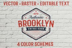 Authentic Vintage Logo Template by Agor2012 shop on @creativemarket