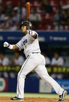 José Ortiz belts a solo homer, his 6th of the season, to left off Yoshihisa Naruse in the top of the 2nd inning to open the scoring at QVC Marine Field on Friday, September 14, 2012.