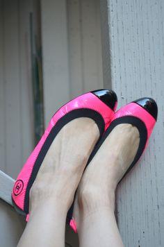 Chanel Ballet Flats . . . New Angle