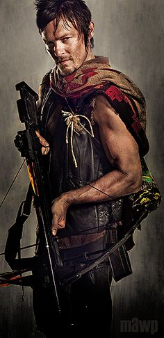 Norman Reedus as Daryl Dixon from The Walking Dead,,,,////