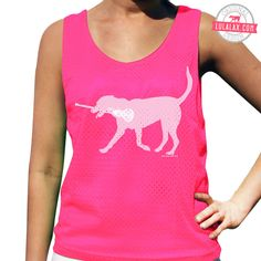 Lexi the LAX Dog Lacrosse Pinnie