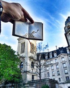 Bonjour #Paris !!!  #Elyx #goodmorning  Que c'est bon de retrouver les déambulations parisiennes avec le carnet magique d'Elyx !