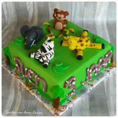 #birthday #cake #animals #zoo #taart #verjaardag