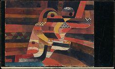 Paul Klee (German (born Switzerland), 1879–1940). Lovers, 1920. The Metropolitan Museum of Art, New York. The Berggruen Klee Collection, 1987 (1987.455.3)