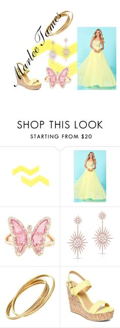 """""""Marlee Tames"""" by hcps-parhamgl ❤ liked on Polyvore featuring Tiffany Designs, Luna Skye, Anne Sisteron, Charles Albert, theselection, marleetames and theselected"""