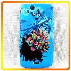 Blue Soft Silicone Rubber Tpu Cover Case For Sony Ericsson Xperia Arc LT15i X12 | eBay