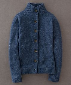 Take a look at this Navy Chunky Wool-Blend Cardigan on zulily today!