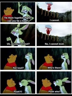 I don't really like winnie pooh but this is really funny