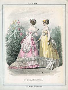 Casey Fashion Plates Detail | Los Angeles Public Library Les Modes Parisiennes Date: Thursday, October 1, 1868