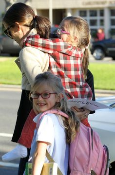 obvi your sisters will be flower girls but i think you should also use jennifer garner's daughters they are adorbs!