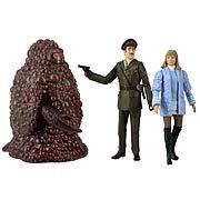 Doctor Who The Three Doctors Action Figure 3-Pack -   A rare collection of action figures from Doctor Who! Marvelous 3-pack from Doctor Whos 3rd incarnation. Collectors set showcases a Gel Guard, the Brigadier, and Jo Grant! This is a rare and somewhat bizarre (what else is new?) collection of action figures from Doctor Who. The...