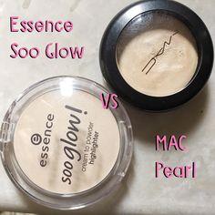soo glow vs mac pearl