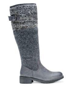 Look what I found on #zulily! Gray Zeena Boot - Women #zulilyfinds