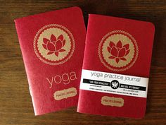 Yoga Practice Journal Blank Inside by RanchandRodeo on Etsy