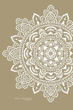 Mandala wall stencils DIY for home of work place decor. Mandala Ibiza wall stencils to pimp your home, garden, office, shop, restaurant or club! We have 8 different mandalas in different sizes from which you can choose! Mandala Print, Mandala Tapestry, Flower Mandala, Lotus Flower, Mandalas Painting, Mandalas Drawing, Stencil Templates, Stencil Diy, Lace Stencil