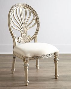 Two Castalia Side Chairs at Neiman Marcus.