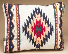 Zapotec Woven Southwestern Pillow 12x16 (s)