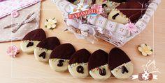 Biscotti bicolore pasquali