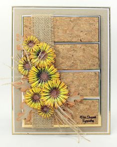 Happy Monday, Ive been meaning to share this card for a couple of weeks but the weather didn't seem appropriate! At the workshop yester. Pinwheels, Happy Monday, Cardmaking, Fancy, Autumn, Floral, Door Shades, Flowers, Cards