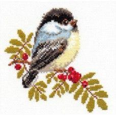 Набор для вышивки крестом Алиса 1-12 Синичка