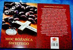 """Modlitewnik """"MOC RÓŻAŃCA ŚWIĘTEGO""""   Wyjątkowo ciekawe wydanie modlitewnika - znajdują się w nim wszystkie najważniejsze i najbardziej poszukiwane modlitwy różańcowe, Nowenna Pompejańska oraz Tajemnice Szczęścia"""