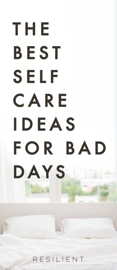 When bad days strike, it's nice to have a list of self care ideas you can pull out to help make things a little better, or even to proactively keep up with self care so you feel better in general. Here are 25 self care ideas for bad days. Feel free to bookmark this page for future reference! #selfcare