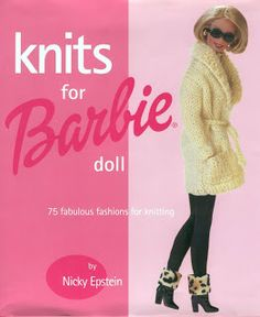 REVISTAS DE MANUALIDADES GRATIS: Knit for Barbie doll