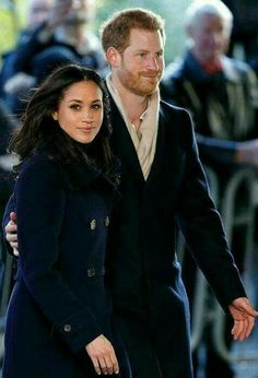 Harry and Meghan together