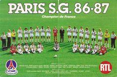PSG 1986-87.