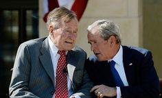 George Bush père, l'ancien président des États-Unis, fut occupé ces derniers jours par la campagne de candidature à présidentielle de son fils Jeb Bush, qui, cette semaine a été impliqué dans un événement de collecte de fonds à Orlando, en Floride. Pendant...