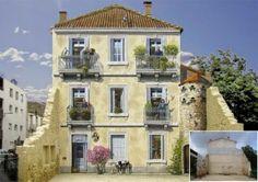 Street art iperrealista: quando le facciate dei palazzi prendono vita | Design Fanpage