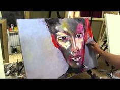 Igor Sakharov artist , video tutorial painting drawing lesson - YouTube