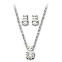 The Swarovski Brilliance Set is a classic and will add the perfect touch of sparkle to your bridesmaids outfits.