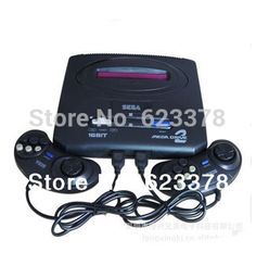 2014 Rushed Real Classic Sega Video Game Console 16bit Games Consoles Md Mega Drive Cd free Shipping
