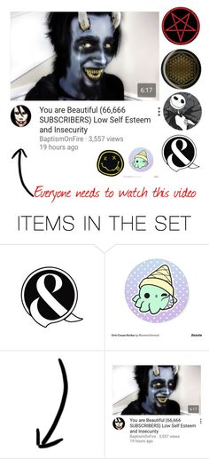 """""""Everyone needs to watch this video"""" by katlanacross ❤ liked on Polyvore featuring картины"""