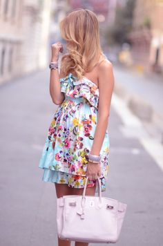floral dress - Continued!