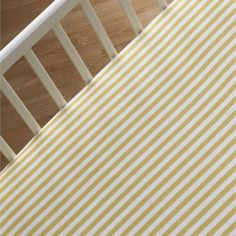 Fitted Sheet - Amber Stripe