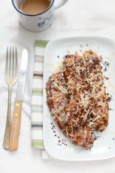 Pisang Goreng Cheese-Indonesian fried banana cheese x @sunfaery