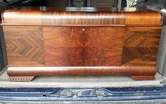 Lane cedar chest refinishing project