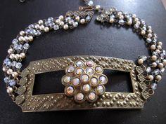 Brass Soiree Necklace