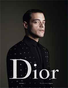 Actor Rami Malek fronts Dior Homme's spring-summer 2017 campaign.