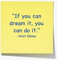 Dream!!! I hope to put this on a wall someday soon